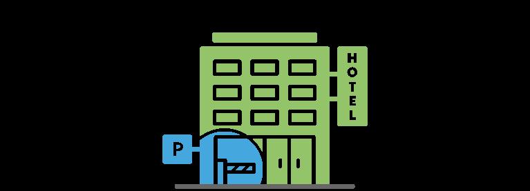 Hotel con parking