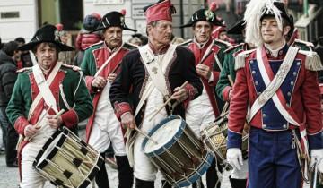 carnavales de España, banda de música disfrazada