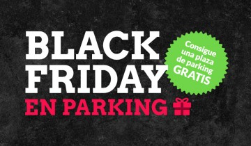 Parking gratis Black Friday