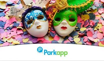 En Carnaval aparca y ahorra con Parkapp