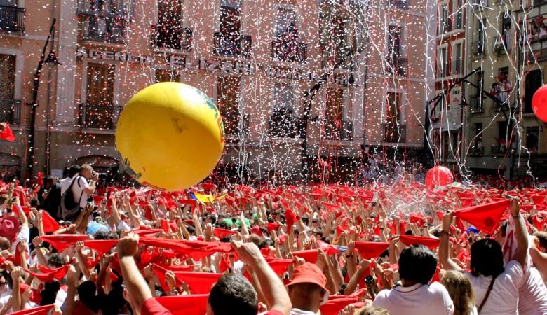 encierro San Fermín Pamplona 2016