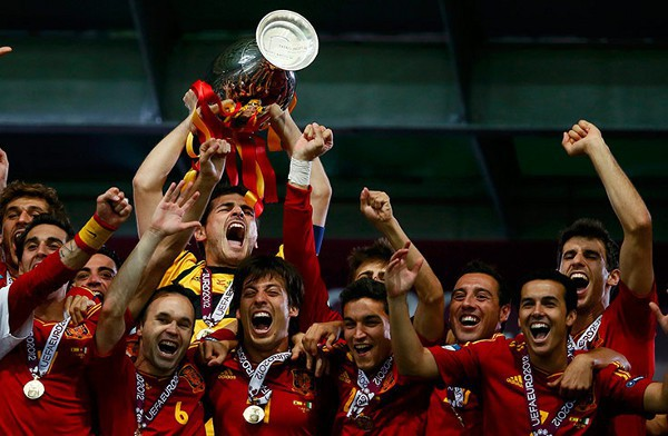 Parkapp_España campeona de la Eurocopa 2012