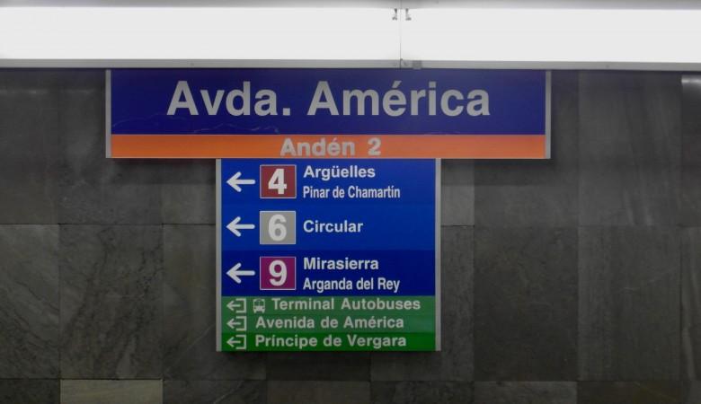 Parking Intercambiador Avenida de América