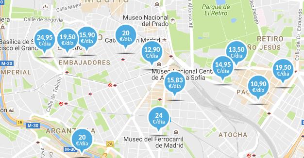 Parking en Madrid centro
