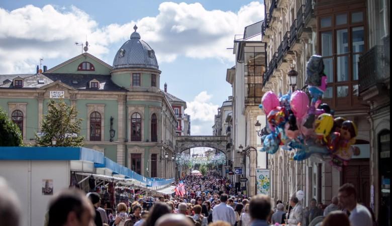 Fiestas patronales de San Froilán en Lugo.